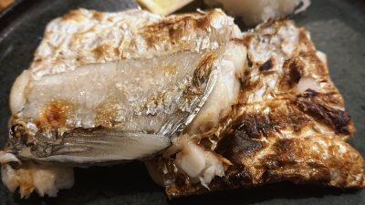 太刀魚の炭火焼き(アップ)|越乃商店 鹿島田店