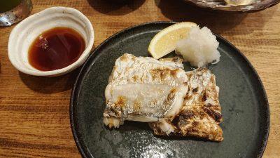 太刀魚の炭火焼き|越乃商店 鹿島田店