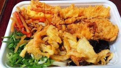 人気の天ぷら4種と定番おかずのうどん弁当1|丸亀製麺 武蔵小杉店