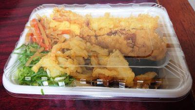 人気の天ぷら4種と定番おかずのうどん弁当 丸亀製麺 武蔵小杉店
