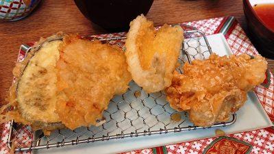 天ぷら4種|博多天ぷら やまみ JR川崎タワー店