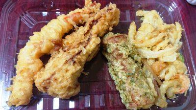 天ぷら4種 丸亀製麺 武蔵小杉店