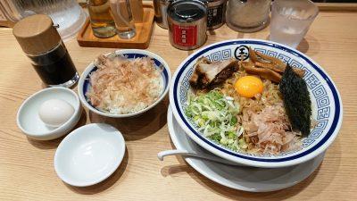 脂そば&TKG|つけ麺 玉 JR川崎タワー店