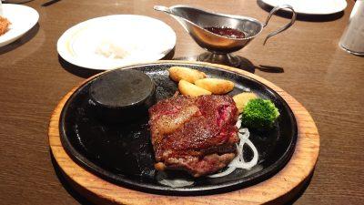 リブロースのビフテキ|あさくま 武蔵小杉店(旧 多摩川店)