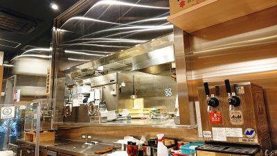 厨房の様子|つけ麺 玉 JR川崎タワー店