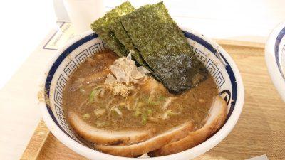 特製つけ麺のスープ|らーめん 玉 大阪梅田店